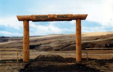 "Ranch Gate ""Bighorn"""