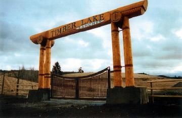 "Ranch Gate ""Timberlake"""